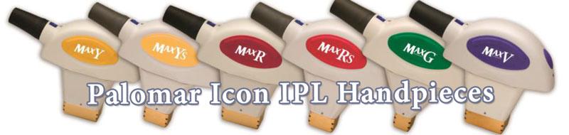 palomar icon ipl handpieces