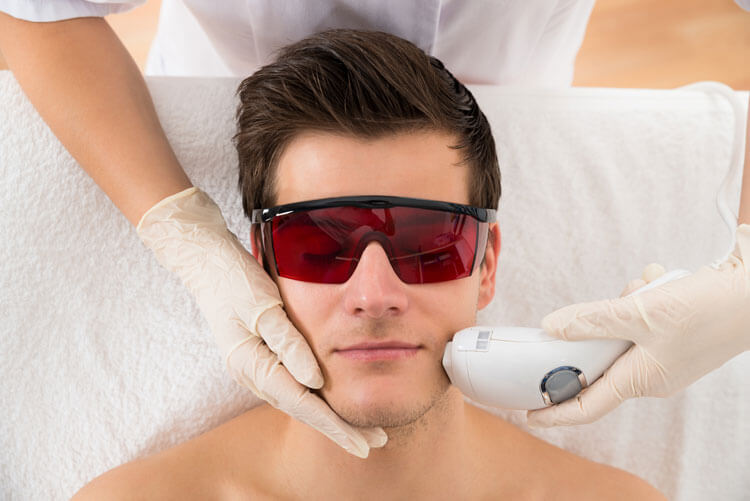 men aesthetic treatment